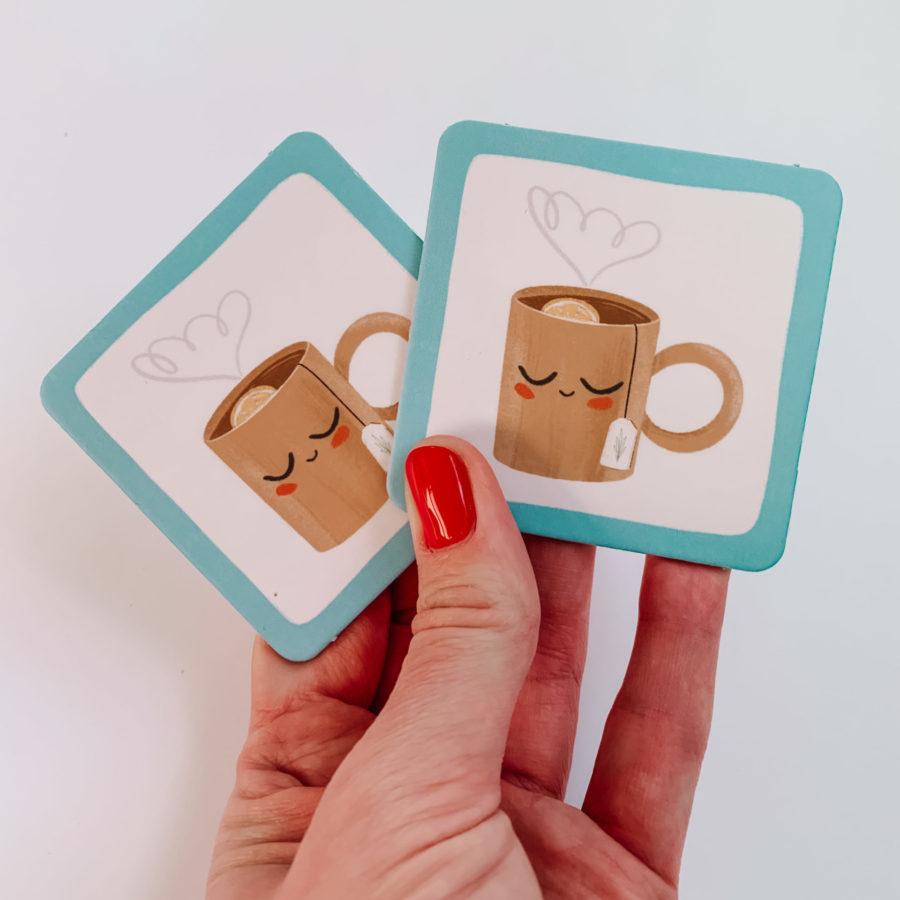 Karty gry Memory Wspomagajki
