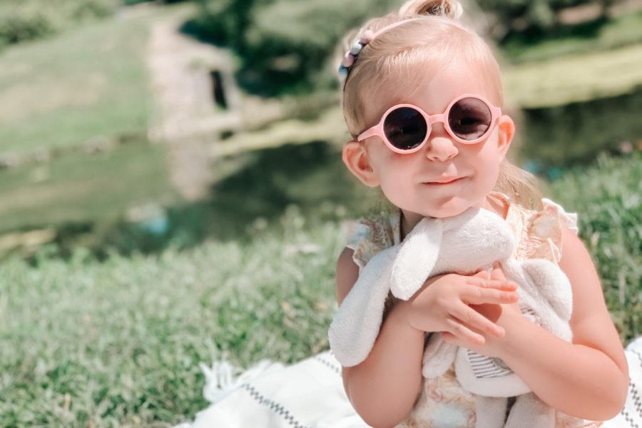 Dwuletnia dziewczynka